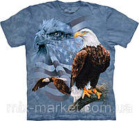 Футболка The Mountain - Faded Flag Eagles- 2014