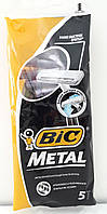 BIC однораз. станки BIC Метал 5 шт.