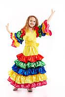 Мексиканский национальный костюм для девочки, рост 130-140 см