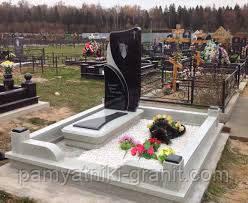 Памятники из гранита одинарные Житомир (Образцы №218)