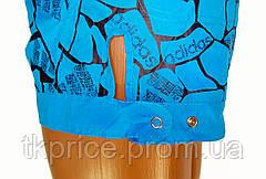 Женские шорты реплика Adidas голубые, фото 3