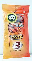 BIC однораз. станки BIC 3 Sensetive 8 шт. c тремя лезв.