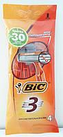 BIC однораз. станки BIC 3 Sensetive 4 шт. c тремя лезв.