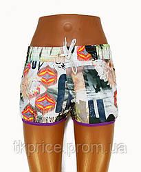 Женские шорты трикотажные