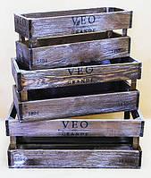 Комплект ящиков деревянных №5