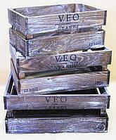 Комплект ящиков деревянных №6