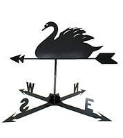 Кованый флюгер Лебедь ФЛ17