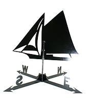 Кованый флюгер Яхта ФЛ19