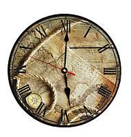 "Часы круглые настенные № 152 ""Карта"""