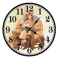 """Часы круглые настенные №208 """"Вирджиния"""""""