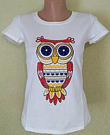 Молодежные белые футболки с рисунками