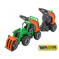 Трактор - погрузчик с цистерной Wader 37404