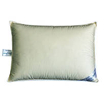 Подушка пуховая 10% SoundSleep Sleep and Go оливковая 50х70 см