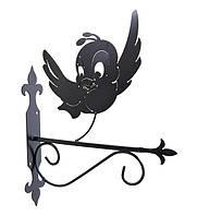 """Подставка для подвесного цветка """"Птица 1"""""""