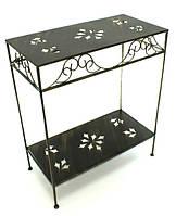 Кованый стол матрешка прямоугольный большой
