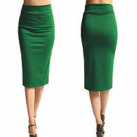 Женская яркая модная юбка-карандаш миди, разные размеры, разные цвета. Розница, опт в Украине.