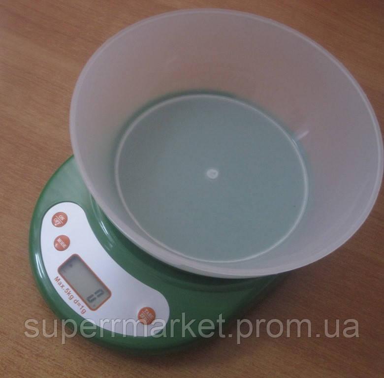 Кухонные весы ACS KE1 до 5kg, green