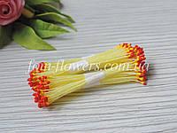 Тайские тычинки желто-красные на лимонной нитке, фото 1