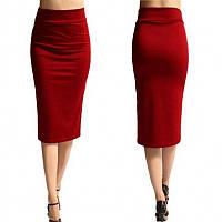 Женская яркая модная юбка-карандаш миди, разные размеры, разные цвета. Розница, опт в Украине., фото 1
