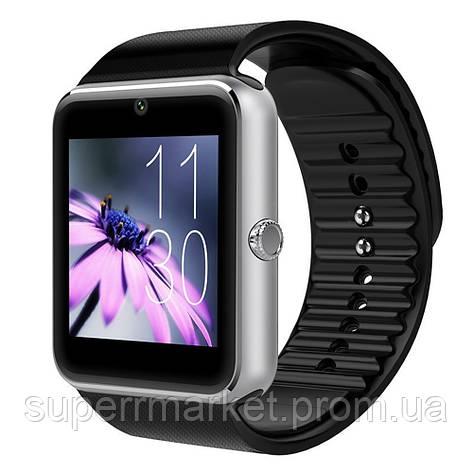 Смарт - часы SMART WATCH GT08 Gsm black-silver, фото 2