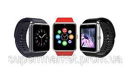 Смарт - часы SMART WATCH GT08 Gsm black-silver, фото 3