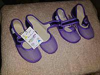 Детская текстильная обувь Виталия на подошве из материала ЭВА отличается легкостью, гибкостью; амортизирующие