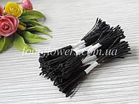 Тайские тычинки черно-дымчатые, удлиненные
