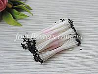 Тайские тычинки черные, супер мелкие на белой нитке, фото 1