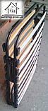 Розкладушка Аліна на ламелях з матрацом, фото 5