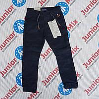 Оптом детские котоновые брюки на манжете для мальчика GRACE, фото 1