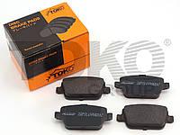 Колодки тормозные дисковые на FORD GALAXY, MONDEO, S-MAX, FOCUS, KUGA