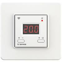 Terneo ax программируемый wi-fi регулятор (белый) для теплого пола