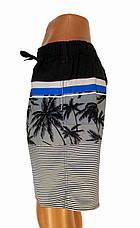 Трикотажные мужские шорты в полоску, фото 3