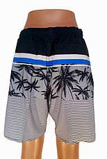 Трикотажные мужские шорты в полоску, фото 2