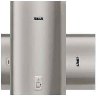 Водонагреватель Zanussi ZWH/S 30 Splendore Silver установка вертикальная и горизонтальная