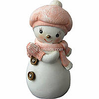 Силиконовая форма Снеговичок Abby
