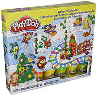 Набор Play Doh Advent Calendar. Адвент-календарь.