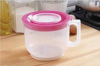 Чаша мерная для миксера с крышкой 2 литра Plast Team
