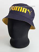 Темно-синяя с желтым панама Puma