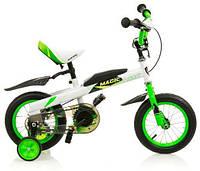 Беговел-велосипед Babyhit Magic Green white (GBW619)