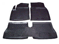 Коврики в салон Ford Fusion 2002-2008 (5 шт) каучук ТЭП