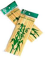 Палочки бамбуковые для шашлыка 15 см. В упак: 100шт.
