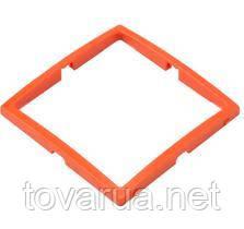 Рамка декоративная - цвет: оранжевый