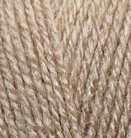 Детская пряжа (акрил)   для ручного вязания ŞEKERİM BEBE (шекерим беби) акрил   238 бежевый меланж