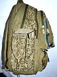 Котоновый рюкзак городской 29*40 (хаки), фото 2