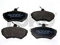 Колодки тормозные дисковые на VW LUPO, CADDY, POLO, GOLF, VENTO, PASSAT