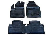 Коврики в салон Ford Focus 2011-2015 (5 шт) каучук ТЭП