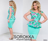 Платье женское батал 48+,Sorokka XL