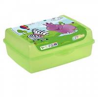 Бутербродница ОКТ kids Hippo midi (15155)