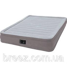 Ортопедическая надувная флокированная кровать Intex 67770